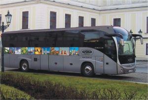 Moderní klimatizované autobusy