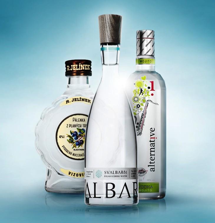 Láhve pro lihoviny, láhve pro víno, obalové sklo Vám na zakázku vyrobí Sklárny Moravia
