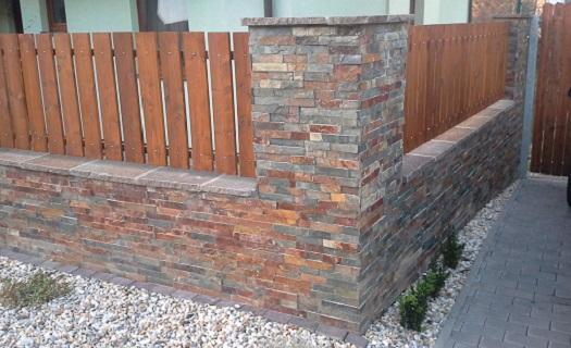 wall stone štípané obklady