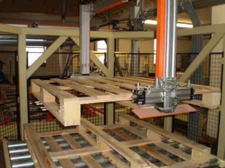Výroba dřevěných palet