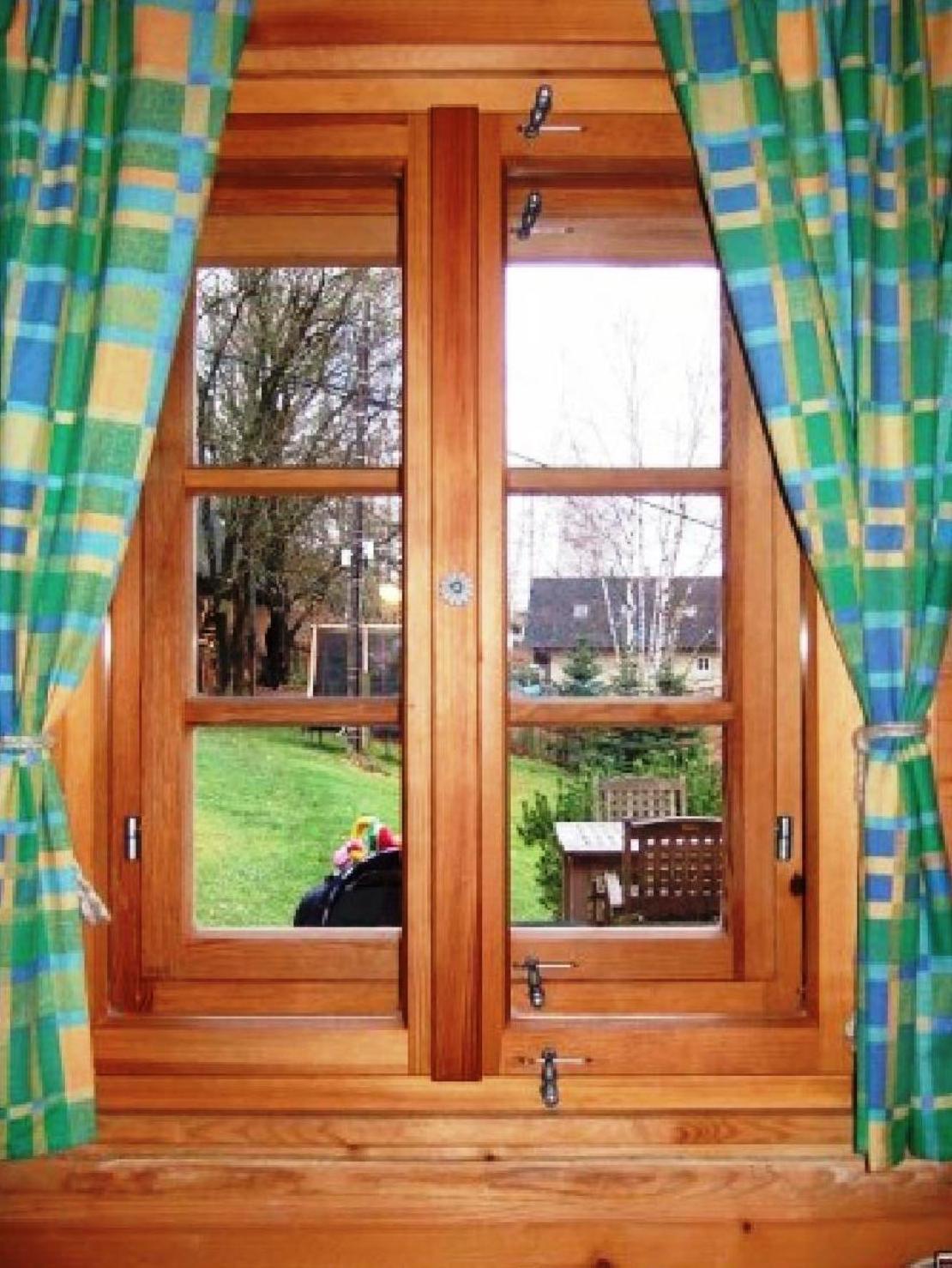 Dřevěná okna Euro IV
