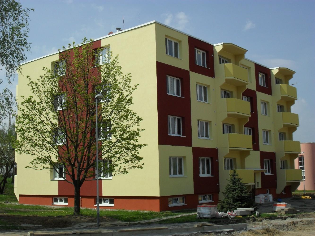 Zateplování, zateplení objektů, revitalizace bytových domů Zlínský kraj