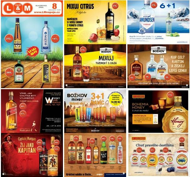 Letní akce na alkoholické a nealkoholické nápoje - velkoobchod Opava