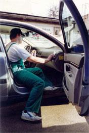 čištění interiéru automobilů Olomouc
