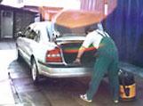 ruční mytí automobilů Olomouc
