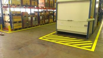podlahové bezpečnostní značení Prostějov