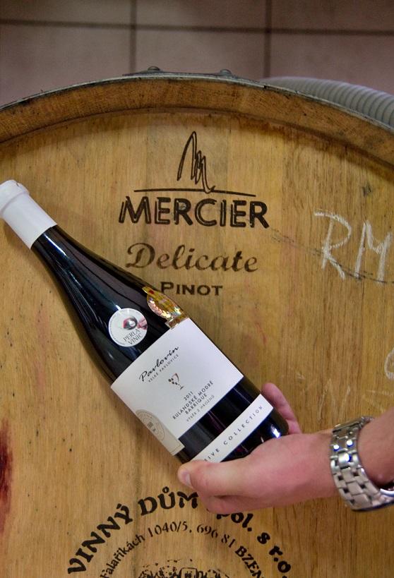 vína z vinařství Pavlovín Velké Pavlovice