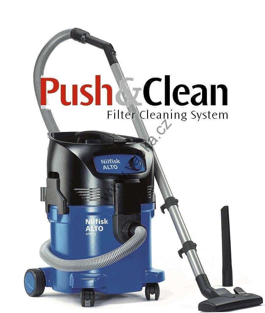 Profesionální čistící technika Nilfisk