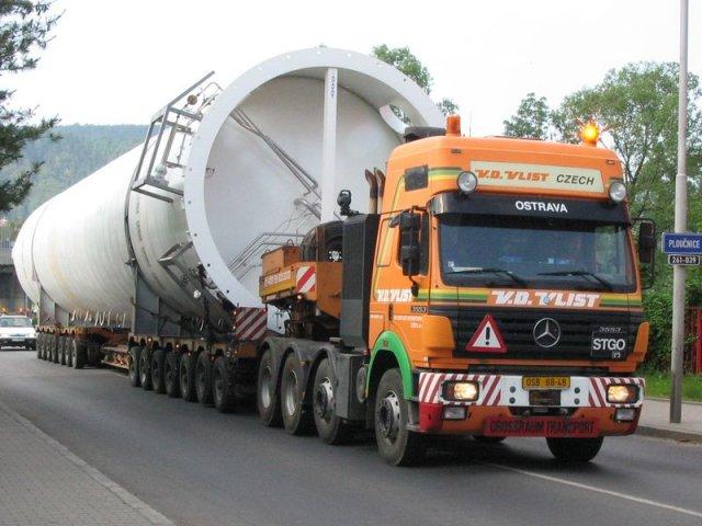 Přeprava nadrozměrných nákladů Ostrava
