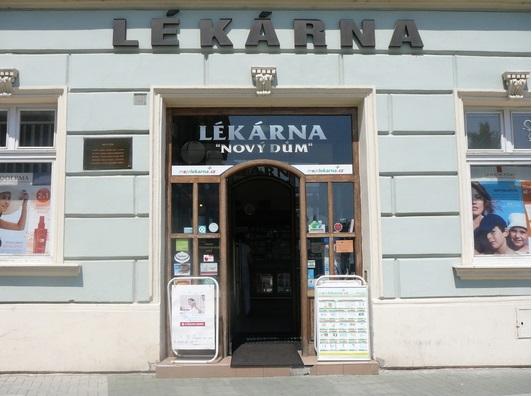 Lékárna Nový dům v Prostějově
