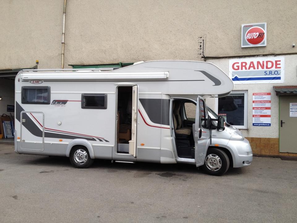 Půjčovna obytných vozů a karavanů Blučina, Brno