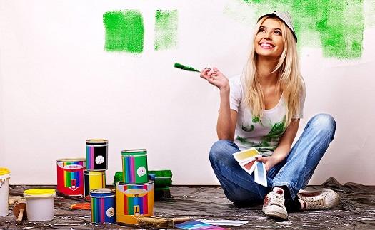Probarvené omítky, interiérové a fasádní barvy Opava