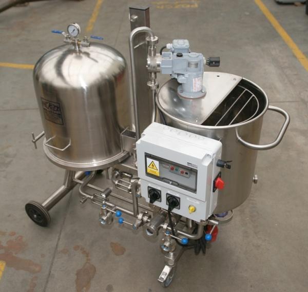pivovarská technologie Blučina