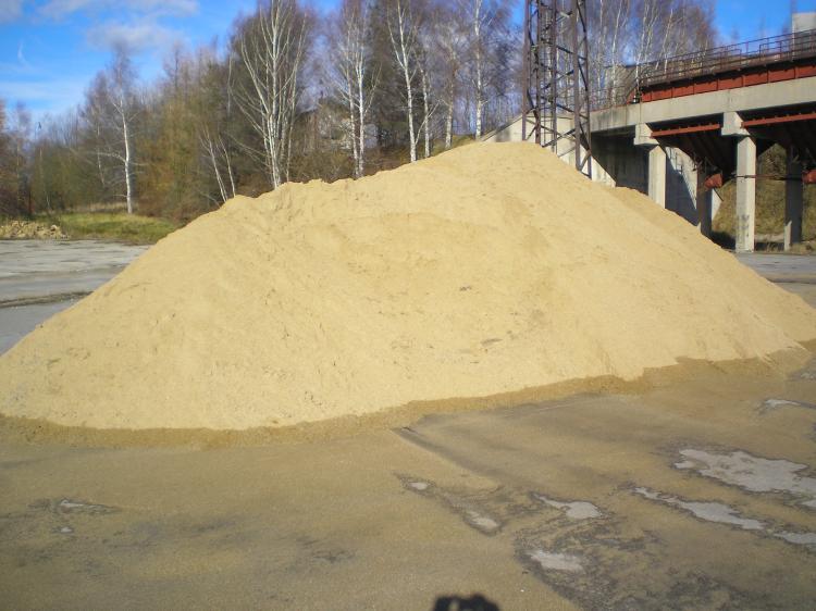 Prodej stavebních písků - betonářský a omítkový písek,  zahradní oblázky, kačírek