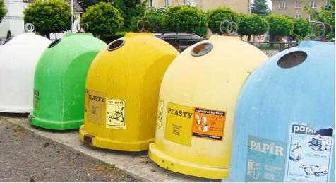 Třídění odpadu, recyklace, zpracování obalů Praha