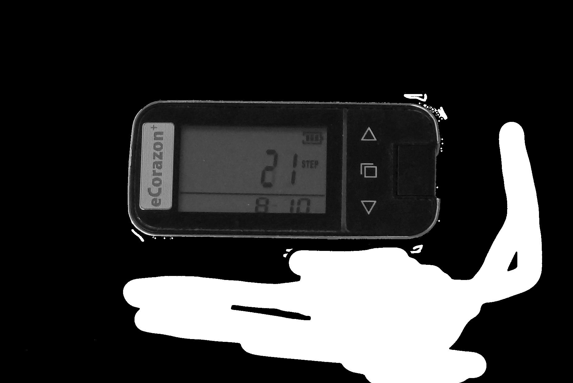 Multifunkční pedometr eCorazon+ - změřte si kolik denně spálíte kalorií