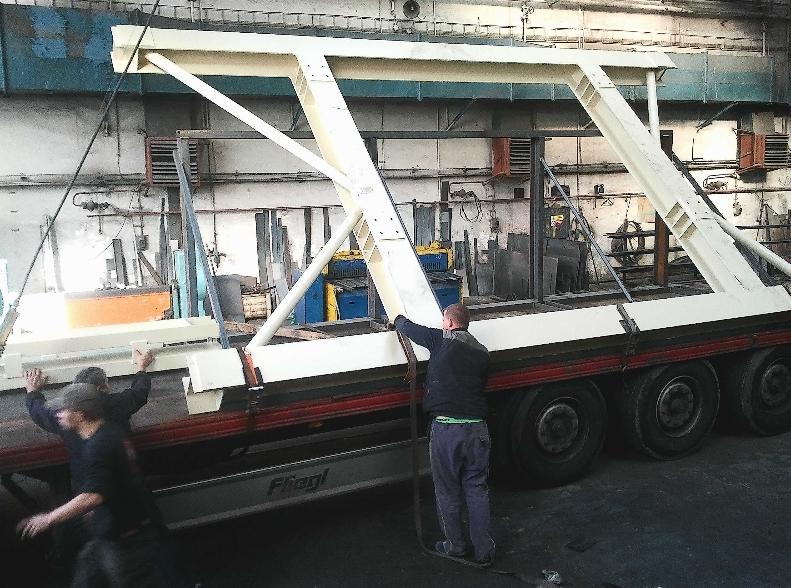 ocelová svařovaná konstrukce