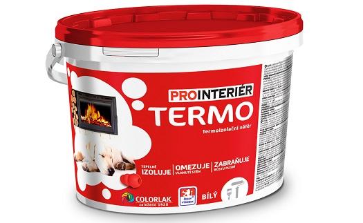 Termoizolační vnitřní nátěr Termo zajistí nižší náklady na vytápění