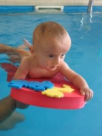 kurz plavání batolat