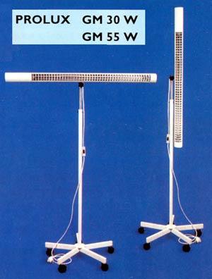 Sterilizátory a UVC lampy, plošná dezinfekce nástrojů