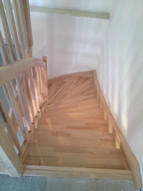 Výroba dřevěných schodů Jílové u Prahy