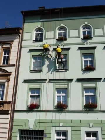 Umývání oken, úprava fasády Plzeň