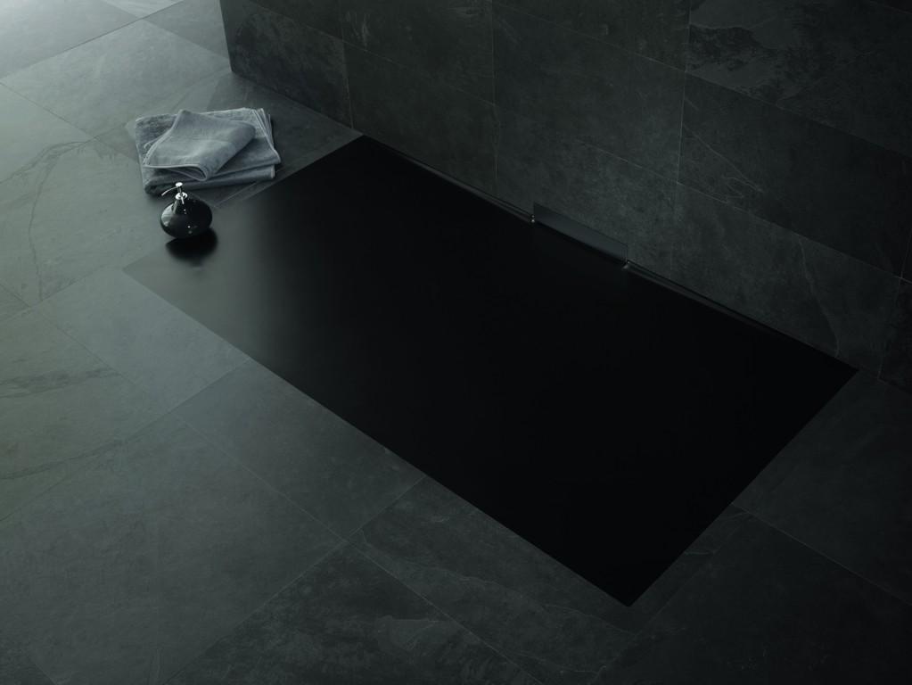 Revoluční sprchová vanička s integrovaným odtokem - Xetis