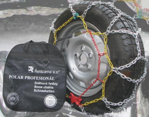 Polar Profesional snow chains - security on snow and ice, Jesenik, the Czech Republic