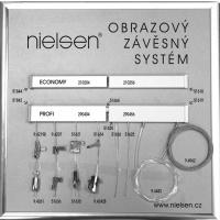 Hanging picture system, NIELSEN battens, the Czech Republic