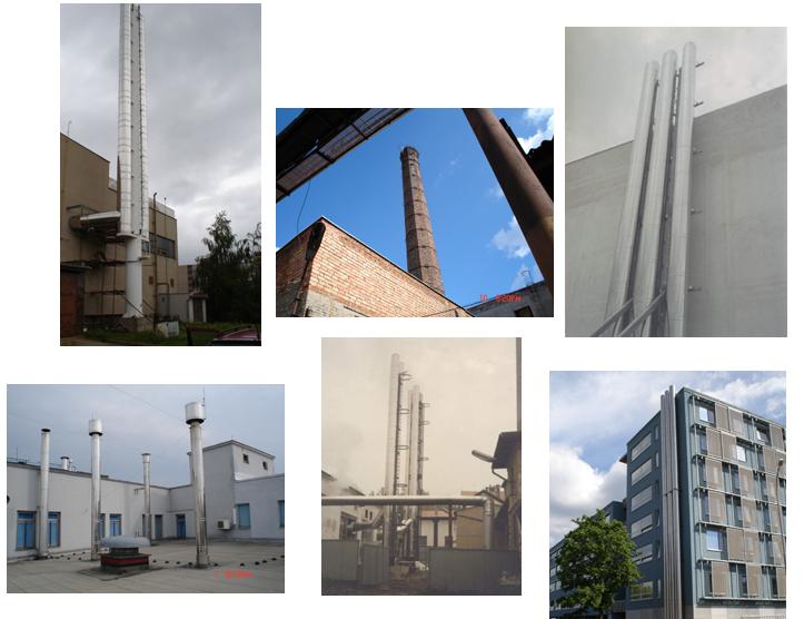 Kominictví, kominík, komínové systémy, vložky Brno