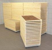 Sušárna těstovin, ovoce, hřibů, papíru, dřeva, krmiv-univerzální použití