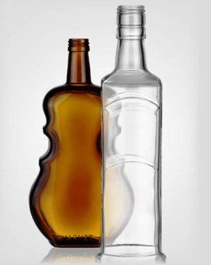 Výroba a dodávka lahví na alkohol - originální láhve ze skla na víno, likéry a alkohol