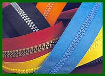 LATVIA; Plastic zippers