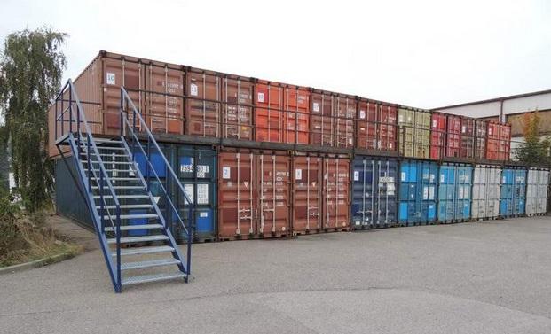 Skladové kontejnery Praha