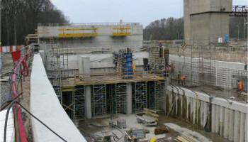 Projekcia a výpočty, vodná energetika, splavy, Brno