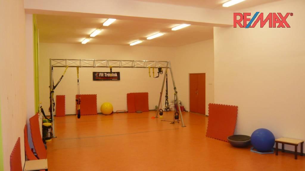Nebytové a komerční prostory Opava-pronájem 78 m2 pro fitness
