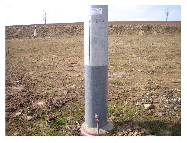 Ochrana stožárů veřejného osvětlení a ocelových sloupů