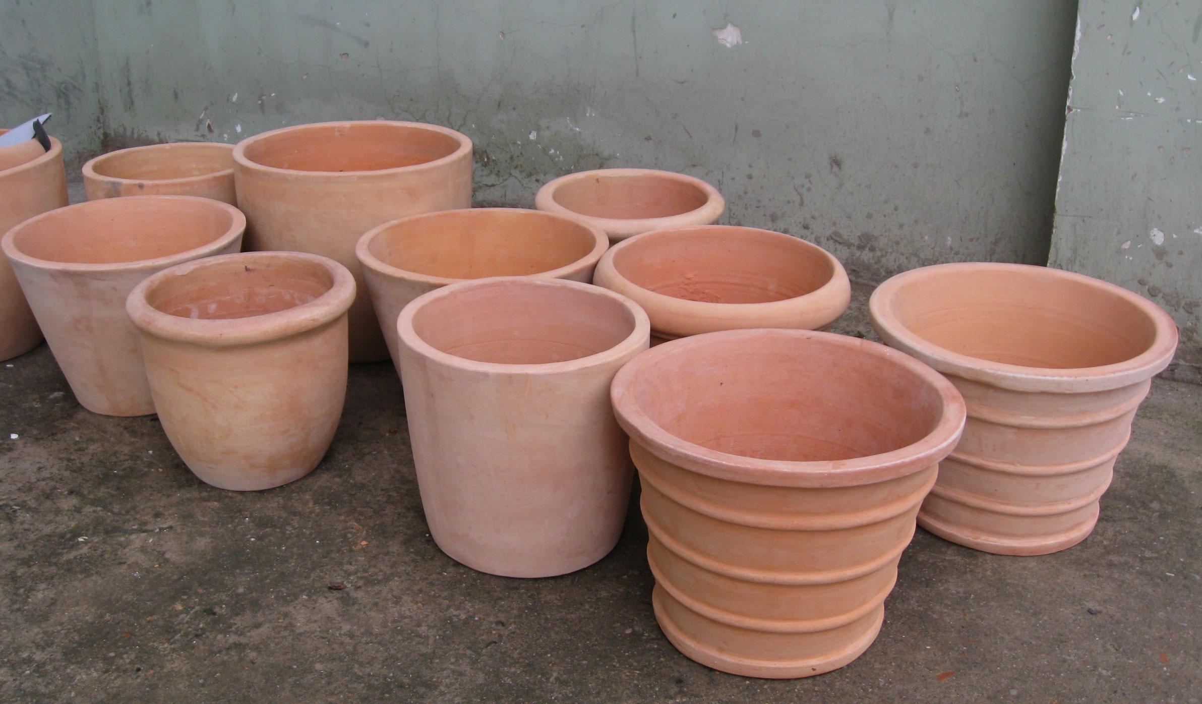 VIETNAM; Flower pots