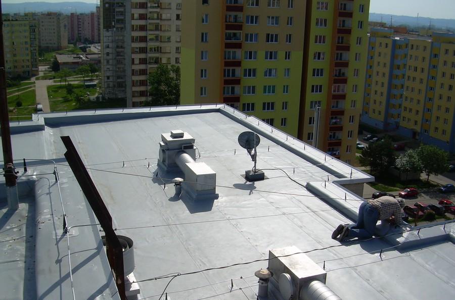 Opravy plochých střech Jindřichův Hradec