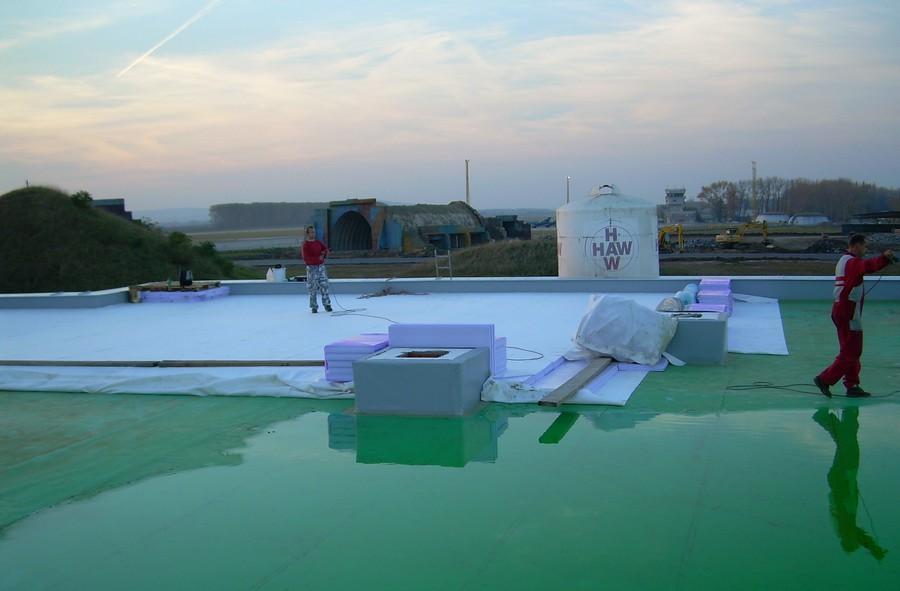 Rekonstrukce plochých střech Jindřichův Hradec