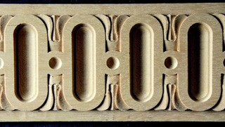 Lišty z masivního dřeva, originální vyřezávané lišty