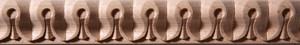 výroba vyřezávané lišty, spiřálové, perličkové, vlnité