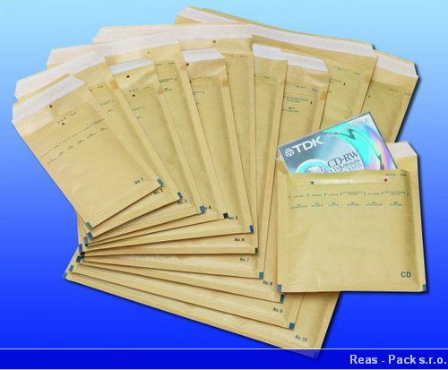 Obálky bublinkové nalepovací kartonové LDPE prodej výroba E-shop