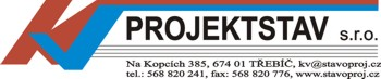 Projektování, projekce staveb, projektová dokumentace Třebíč