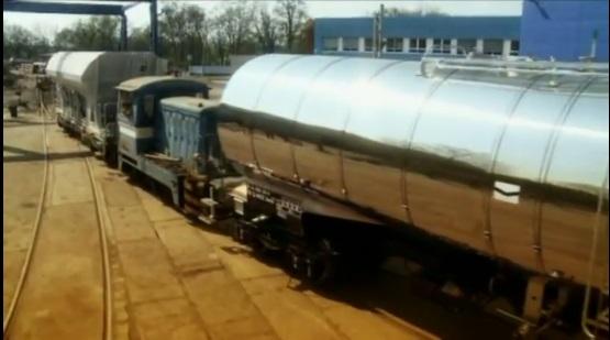 Opravy železničních vagónů