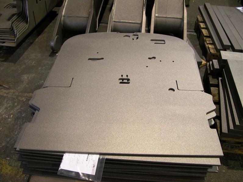 Strojírenská výroba - tvarové výpalky z kovů, těžké svařence