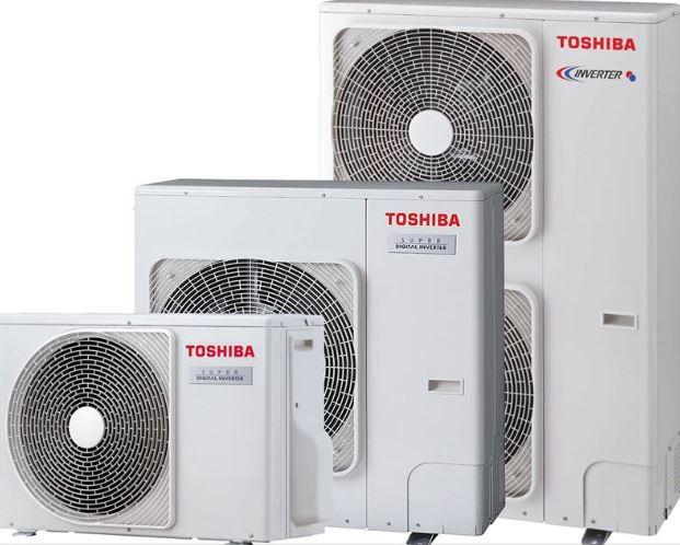 Vzduchotechnika TOSHIBA