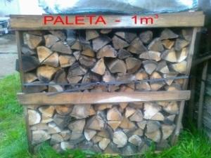 Paleta palivového dřeva