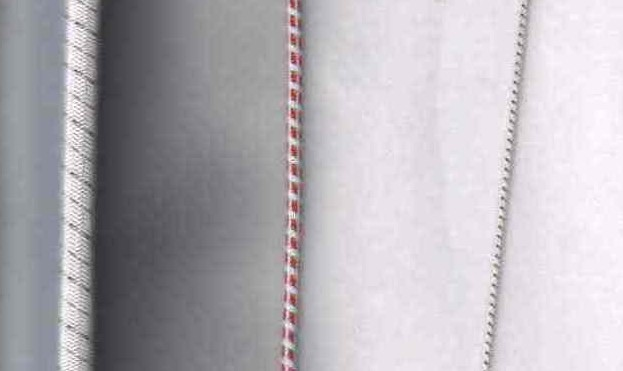 Pružné spirálově pletené vodivé lanko