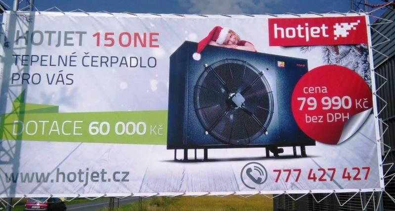 Tisk billboardu Opava